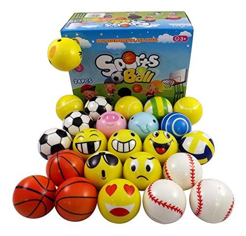 Mini Sports Emoji Balls Assorted