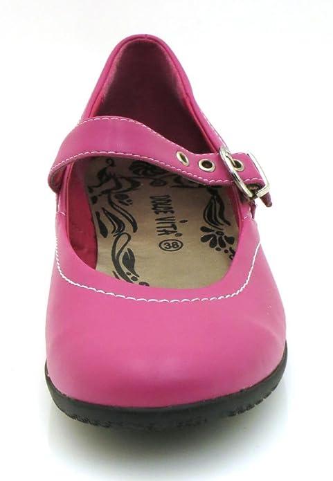 Dolce Vita Ballerinas Sommerschuhe Damenschuhe Damen Schuhe gelb pink 2835