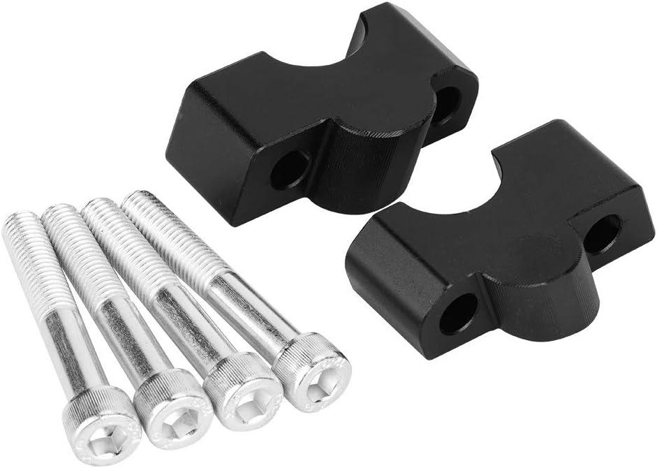 Riser manubrio for moto-adattatore for manubrio Morsetto fisso superiore Riser larghi Compatibile con Kawasaki Vulcan S 650 VN650 2015-2018