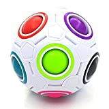 Magic Rainbow Ball Puzzle Speed Cube Children Fun Intelligence Games Fidget Toy
