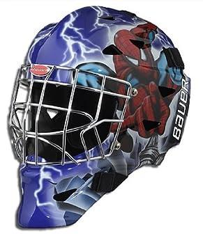 Bauer Hockey Marvel Youth Street Hockey Goalie Mask Wolverine