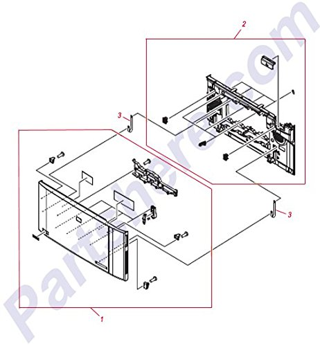 HP RC1-9043-000CN Door band hinge ()
