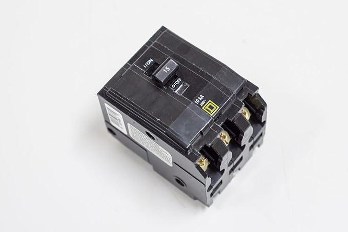 SCHNEIDER ELECTRIC Miniature Circuit Breaker 240-Volt 50-Amp QO350 Ipc2X 1-Nf225Amb, 1-Ee75T3H, 1-Nq225Amb 84Ckt