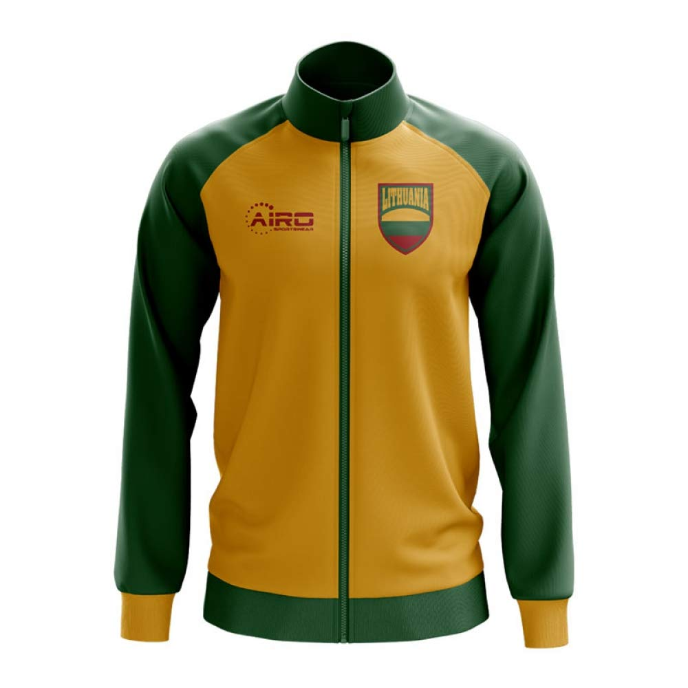 Airo Sportswear Lithuania Concept Football Track Jacket (Yellow)