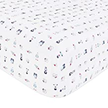 Babyletto Fitted Mini Crib Sheet, Galaxy