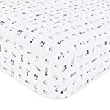 baby bedding robot - Babyletto Fitted Crib Sheet, Galaxy