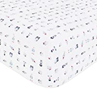 Babyletto Fitted Crib Sheet, Galaxy
