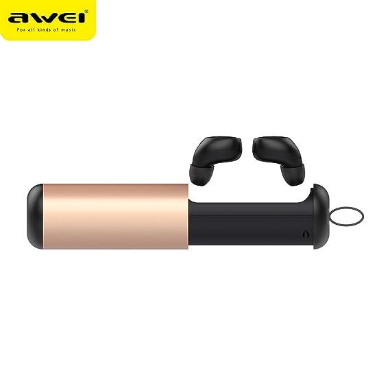 Amazon.com: New T5 dual ear wireless Bluetooth headset 5 Mini private model TWS Bluetooth earphone gift customization: Home Audio & Theater