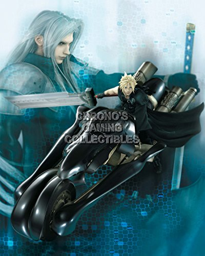 CGC Huge Poster - Final Fantasy VII Advent Childre Cloud on Bike PS1 PSP - FVII033 (24