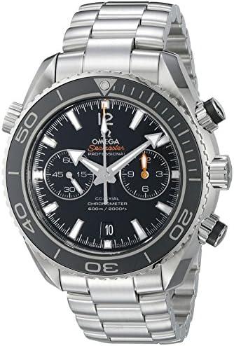 Omega Men s 232.30.46.51.01.001 Seamaster Plant Ocean Black Dial Watch