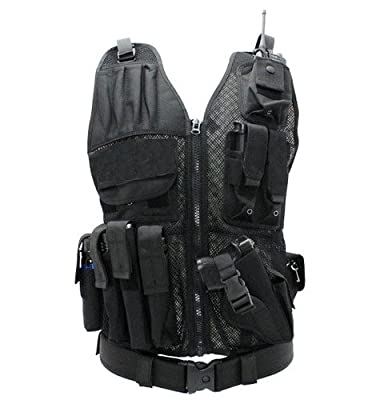 First Class Tactical Duty Vests, Black