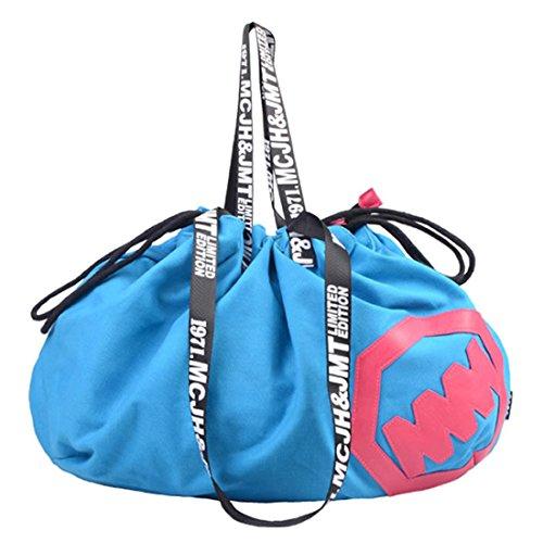 Unyu Shoulder Drawstring Bag - Shoulder Bag Blue Womens (skyblue)