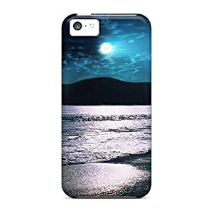 Beach Back For ipod touch4 High-definition pattern covers protection yueya's case