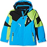 Spyder Kids  Boy's Leader Jacket (Big Kids) Fresh Blue/Fresh/Black 10