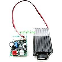 Industry Laser Module 200mw 660nm Red Fat Beam Laser Dot Module 12V TTL & Adapter