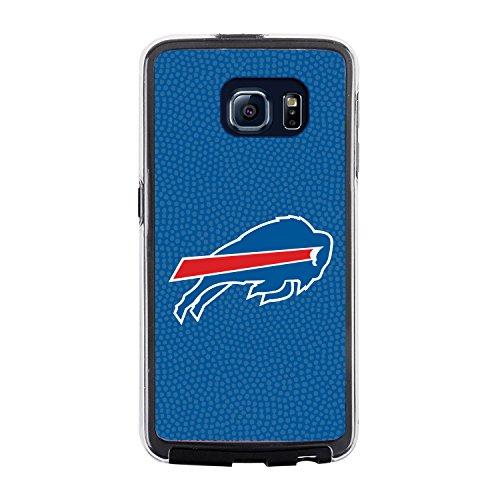 Buffalo Football Case Display (NFL Buffalo Bills Football Pebble Grain Feel No Wordmark Samsung Galaxy S6 Case, Team Color)