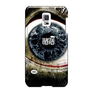 AlainTanielian Samsung Galaxy S5 Mini Shock Absorption Hard Phone Covers Support Personal Customs Trendy Suicide Silence Image [WYg20054IrjS]