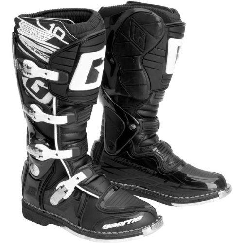 Gaerne SG10 Mens Black Motocross Boots - 12 (Gaerne Sg10 Motocross Boots)