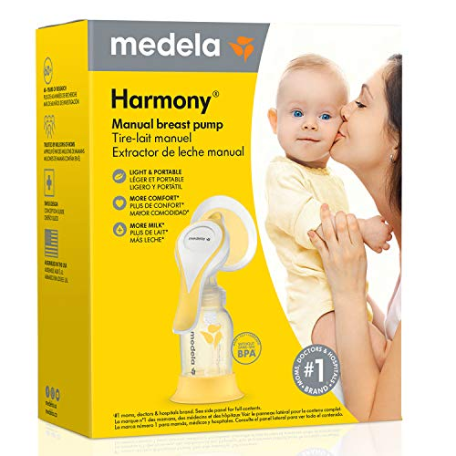 51QWpY1QCGL - New Medela Harmony Manual Breast Pump, Single Hand Breastpump With Flex Breast Shields For More Comfort And Expressing More Milk