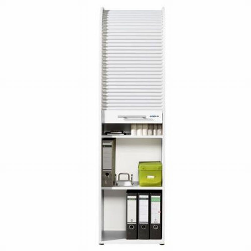 Rolladenschrank ikea  IKEA AVSIKT -Rollschrank weiß Aluminium - 40x121 cm: Amazon.de ...