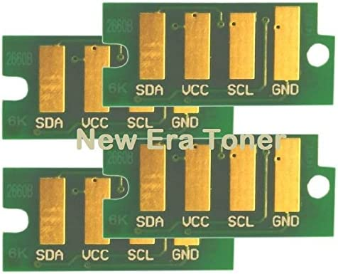 Cyan Toner Reset Chip for Dell E525W Color Laser All-in-One Printer  Dell e525w