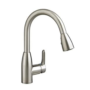 Charming American Standard 4175.300.075 Colony Soft Pull Down Kitchen Faucet,  Stainless Steel