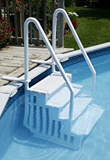 Above Ground Easy Entry Pool Steps By SplashNet