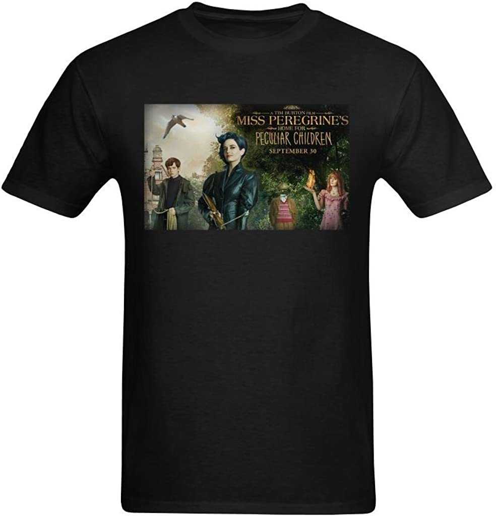 Definite Myself Men's Miss Peregrine's Home for Peculiar Children Poster Design T-Shirt
