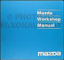 2000 mazda pickup truck repair shop manual original b2500 b3000 rh amazon com 2000 mazda b2500 repair manual 2000 mazda protege repair manual free download