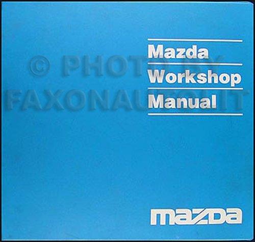 1991 Mazda Pickup Truck Repair Shop Manual Original B2200 & B2600i