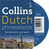 Collins Dutch Phrasebook CD Pack: The Right Word in Your Pocket (Collins Gem)