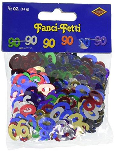 Fanci Fetti Silhouettes multi color Party Accessory