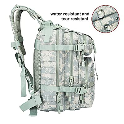 PANS Military Assault backpack Outdoor Tactical Backpack for pistol hydration backpack for Camping Hiking Trekking and Sports