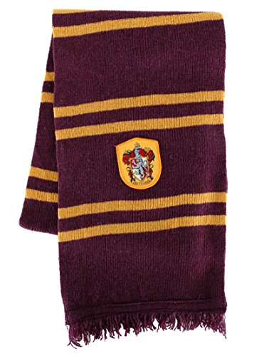 elope Harry Potter Officially Licensed Lamb's Wool Hogwarts House Scarf- (Harry Potter Scarf Gryffindor)