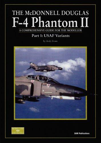 4 Douglas Phantom F Mcdonnell (MCDONNELL DOUGLAS F-4 PHANTOM II PART 1, THE: Part 1: USAF Variants (No. 12))