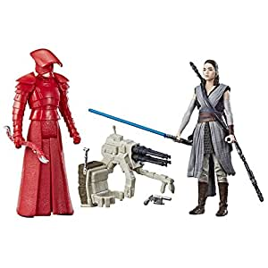 Hasbro Star Wars Rey (Jedi Training) & Elite Praetorian