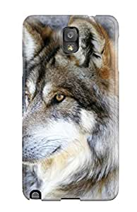6073818K75765820 Shock-dirt Proof Wolves Animal Case Cover For Galaxy Note 3