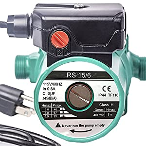 51QWssvR8ML. SS300  - G.D.Solid Water Heater 3/4'' 110V Hot Water Circulation Circulator Circulating Pump For Solar Heater System With US Plug