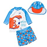 Baby Toddler Boys Two Pieces Swimsuit Set Shark