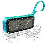 Wireless Bluetooth Speaker,Portable Bluetooth Speaker with Stereo HD Audio and Enhanced Bass,MIC Card,Handsfree Calling,FM Radio,Beach Radio and waterproof bluetooth speaker (ARM11)