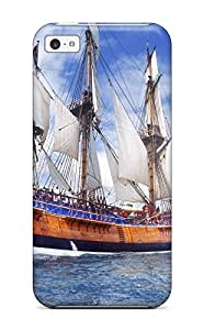 1627103K57759527 For Iphone 5c Protector Case Replica Of Endeavour On Sydney Harbor Phone Cover