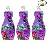 Palmolive Soft on Hands & Soft on Nails Utra Lotus blossom and Lavender Scent Dishwashing Liquid Soap Detergent, 25 Oz Pack of 3, (25 Oz x 3, Total 75 Oz)