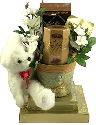 Gift Basket Village Beary Best Wishes Gift Basket