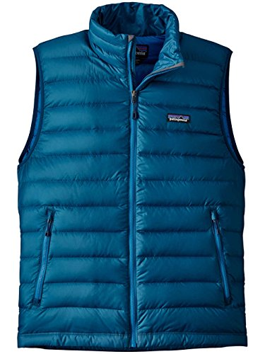 Sweater Big Sur Men's Vest Down Patagonia Blue ax0gWpEqfw