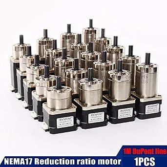 Ochoos Planetary Geared Gearbox Nema 17 Stepper Motor All