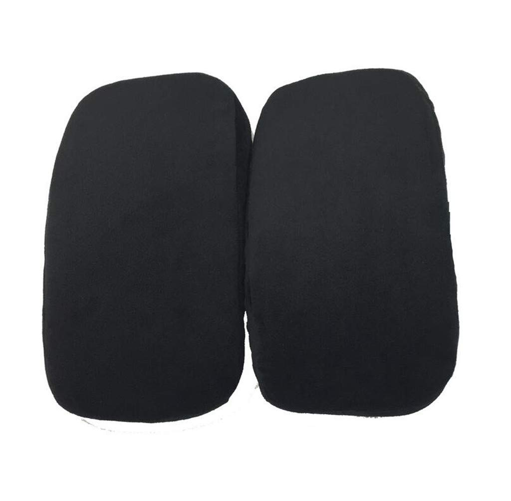 Whryspa Chair Armrest Pads Memory Foam Elbow Pillow Support Arm Rest Covers Office Chair Arm Pads Universal Cushion,2Pair by Whryspa