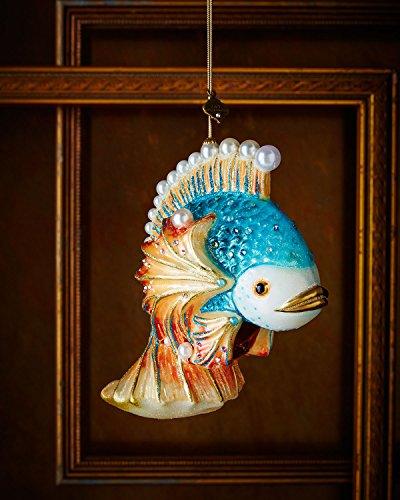 Oscar Renta Runway (JAY STRONGWATER Fish Christmas Ornament)