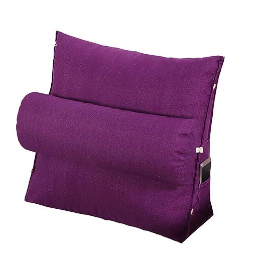 Almohadas de Lectura con Tela, Soporte de Espalda Resistente ...