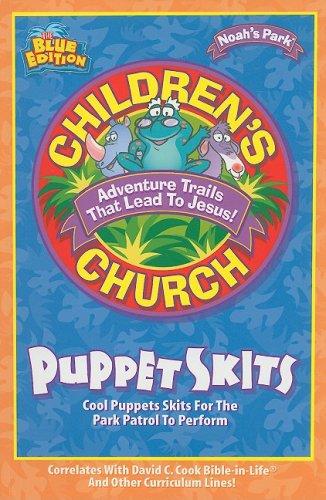 Doug Childrens Puppet (Noah's Park Children's Church Puppet Skits, Blue Edition)