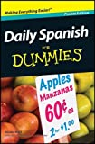 img - for Daily Spanish for Dummies book / textbook / text book